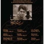 آغاز دور دوم کنسرت محمدرضا شجریان در آمریکا