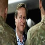 نخست وزیر بریتانیا وارد کابل شد