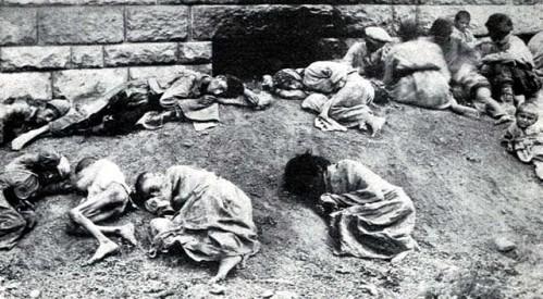 نسل کشی ارامنه صد سال پیش در چنین روزهایی بدست دولت عثمانی