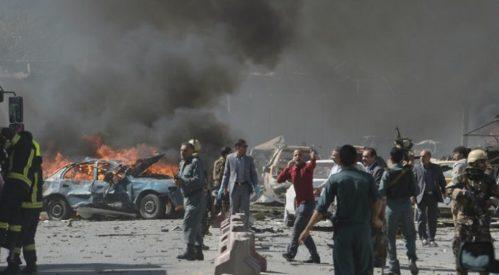 کشته و زخمی شدن ۸۰ تن براثرحمله انتحاری در کابل