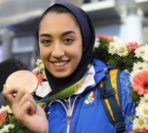 انتخاب کیمیا علیزاده به عنوان پرچمدار مسابقات قهرمانی تکواندو جهان