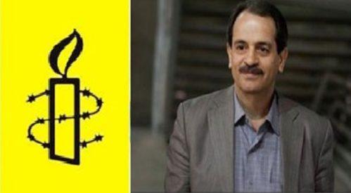 درخواست لغو فوری حکم اعدام محمد علی طاهری ازسوی عفو بین الملل