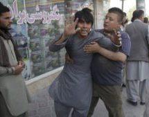 حمله انتحاری به مسجد شیعیان در کابل