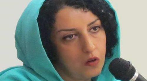نرگس محمدی از پیگیری درمان بیماریاش بهدلیل برخوردهای مأموران انصراف داد