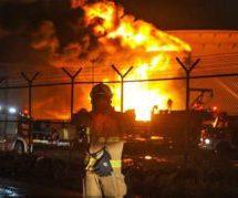 آتشسوزی در پالایشگاه نفت تهران ۱۰ کشته و زخمی بر جای گذاشت