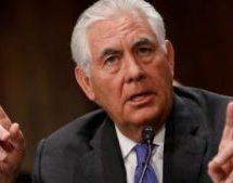 تیلرسون:آمریکا به دنبال رفع نقایص برجام است