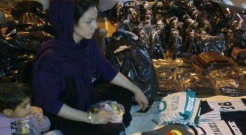 دستفروشی قهرمان و رکورد دار سرعت بانوان ایران