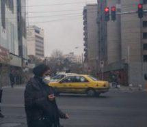 وضعیت آلودگی هوای تهران به مرز هشدار رسید