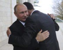 ملاقات پوتین با اسد پیش از نشست سوچی