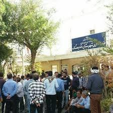اخراج کارمندان شهرداری اندیمشک پس از پایان اعتصاب