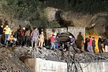 کشته و زخمی شدن سه کارگر در حادثه آتش سوزی معدن زرند
