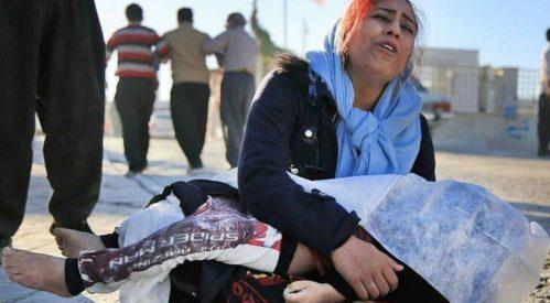 افزایش آمار کشته شدگان و عدم کمک رسانی به زلزله زده گان کرمانشاه
