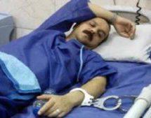 سکته رضا شهابی به علت عدم رسیدگی مسئولان در زندان رجایی