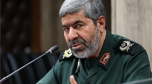 محکوم شدم خانواده صدام حسین به نقشآفرینی در اعتراضات اخیر ایران ازسوی سخنگوی سپاه پاسداران