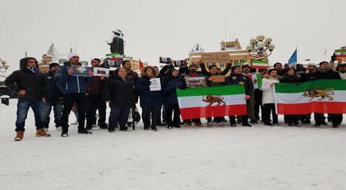تجمع در حمایت از تظاهرات اعتراضی همیهنانمان در  کشور سوئد