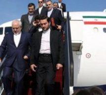 """هواپیمای بدون سوخت """"محمد جواد ظریف """"در مونیخ"""