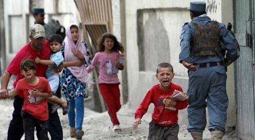 افزایش آمار قربانیان غیرنظامی در حملات انتحاری افغانستان
