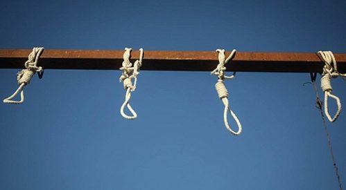 حکم اعدام سیزده زندانی در زندان رجایی شهر کرج اجرا شد