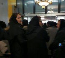 تجمع اعتراضی شماری ازمدیران مهدکودکهای تهران درمقابل وزارت کار