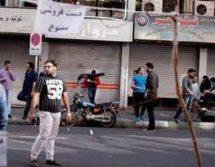 درگیریماموران نیروی انتظامی با دستفروشان در اراک