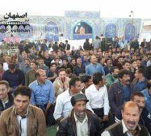 ادامه اعتراضات کشاورزان در اصفهان