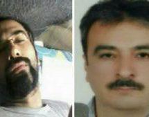 انتقال حمیدرضا امینی و سهیل عربی به اورژانس بیمارستان خمینی
