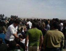 حمله نیروهای امنیتی به مردم و کشاورزان ورزنه