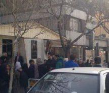 تجمع اعتراضی خانواده بازداشتشدگان روز ۸ مارس مقابل دادسرای ارشاد
