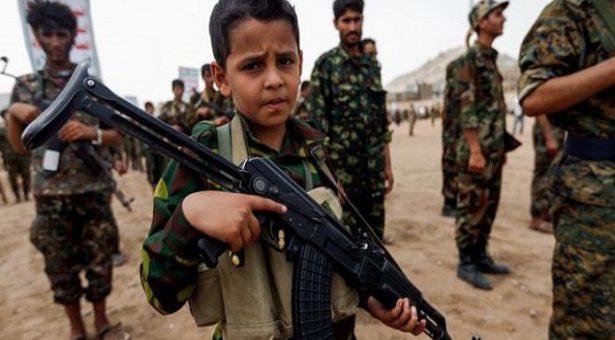 سوء استفاده از هزار کودک سرباز در سطح جهان